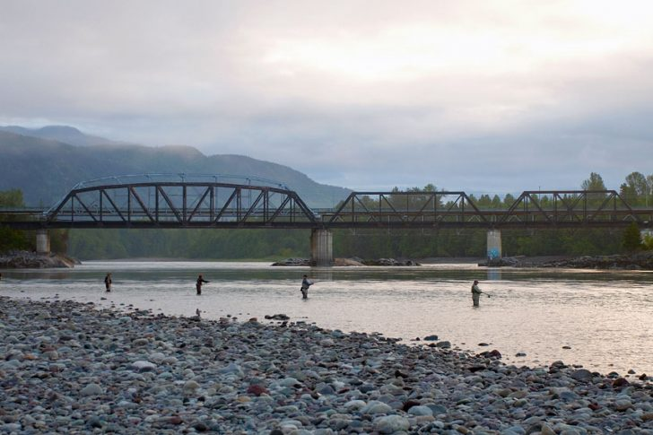 Fishing On The Skeena River