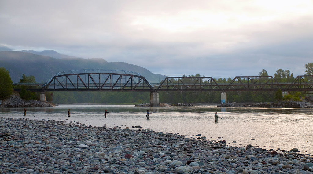 Fishing On The Skeena River